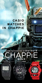 casio watches chappie