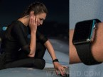 Gal Gadot wears an Apple Watch with black strap in Keeping Up With The Joneses.