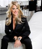 Kim Zolciak, famous for her participation in The Real Housewives of Atlanta, oft