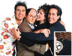 Seinfeld wearing a Breitling Navitimer on a promotional photo for the sitcom Sei