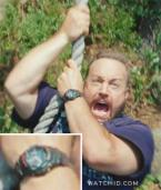 Kevin James with what looks like a Casio G-Shock G100-1BV wristwatch in the movi