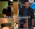 Chon (Taylor Kitsch) wears a Casio G-Shock G-300-3AV in the movie Savages.