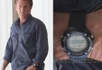 Sean Penn wears a Casio Sports WS210H-1AV in The Gunman.
