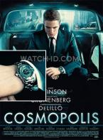 The Chanel J12 watch can clearly be spotted on the Cosmopolis film poster