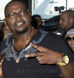 Randy Jackson wearing a yellow Curtis & Co. Big Time Air watch