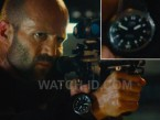Jason Statham wears a IWC Aquatimer Automatic 2000 IW358002 in Mechanic: Resurrection.