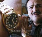 Golden watch worn by Jack Black in Bernie