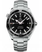 Omega Seamaster Planet Ocean 2201.50.00 with a steel bracelet