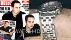 The Omega Seamaster watch could be spotted in an article about Prince William in