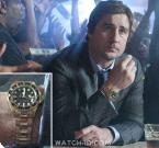 Luke Wilson wears a yellow gold Rolex Submariner in the movie Middle Men.