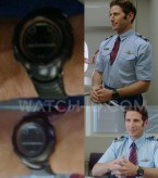 Actor Mark Feuerstein wears a Suunto Vector XBlack watch in Larry Gaye: Renegade Male Flight Attendant.