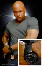 LL Cool J  wears a Suunto X-Lander Military in the television series NCIS: Los A