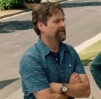 Zach Galifianakis wearing a Timex Expedition in Keeping Up With The Joneses.