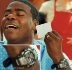 Tracy Morgan wearing a Casio G-Shock GS-1001-1A in Cop Out