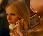 Gwyneth Paltrow wears a Cartier Tank watch in Mortdecai