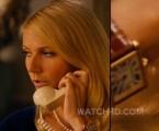 Gwyneth Paltrow wears a Cartier Tank watch in Mortdecai