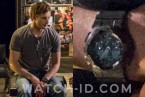 Bradley James wears a Casio G-Shock GA100 in Damien.