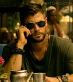 Chris Hemsworth wears a Casio G-Shock GW-9400-3 RANGEMAN watch in the Netflix movie Extraction.