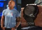 Dwayne Johnson wears a Hamilton Khaki Navy BeLOWZERO watch in Central Intelligence.