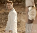 Chris Hemsworth wears a Hamilton Ventura Auto in Men in Black: International.