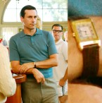 Jon Hamm, as Don Draper in the popular AMC television series Mad Men wears a Jaeger-LeCoultre Reverso Classique.