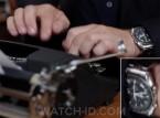 Tom Hanks wears an Omega Speedmaster in the documentary California Typewriter.