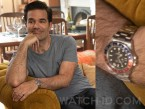Rob Delaney wears a Rolex GMT-Master II watch in the series Catastrophe.