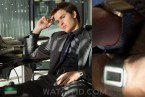 Ansel Elgort wears a vintage Seiko LCD watch in Billionaire Boys Club (2018).