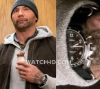 Dave Bautista wears a Shinola The Rambler Tachymeter Chrono in My Spy.