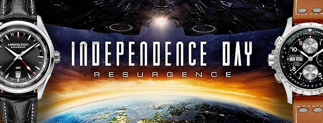 Hamilton watches in Independence Day: Resurgence