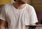 David Tennant wears a Skagen 958XLBLN watch in the movie What We Did On Our Holiday.