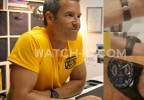 Actor Guy Pearce wears a TAG Heuer Grand Carrera Calibre 17 RS2 in the movie Results.
