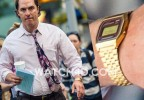 Matthew McConaughey was spotted wearing a Casio A159WGEA-5 on the film set in New York City.