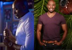 Actor Morris Chestnut wears a Guess U0500G1 watch in Rosewood.