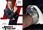 """Universal PicturesRowan Atkinson wears a IWC IW327016 Pilot's Watch Mark XVIII Edition """"Le Petit Prince"""" on the poster of Johnny English Strikes Again."""