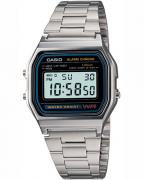 Casio A158WA-1, features daily alarm, hourly time signal, stopwatch, auto calend