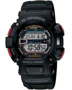 Casio G-Shock G9000-1V Mudman, with matte black case and red buttons