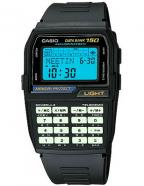 Casio Data Bank Calculator Watch DBC150B-1DF, luminous keypad and Afterglow disp