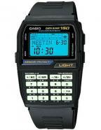 Casio Data Bank Calculator Watch DBC150B-1DF, luminous keypad and Afterglow disp