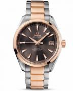 Omega Seamaster Aqua Terra Chronometer, steel-red gold on steel-gold, model numb