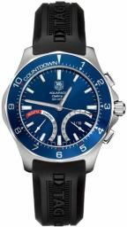TAG Heuer Aquaracer Calibre S Regatta CAF7110.FT8010 with blue dial, blue bezel