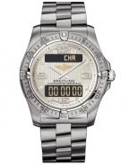 Breitling Aerospace with titanium case and silver stratus dial