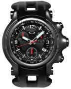 Oakley Holeshot® 10-228 stealth, with black rubber strap, black dial, black case