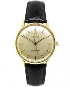 1960's Omega Seamaster Deville with 18ct gold case