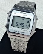 Seiko A914-5A09 vintage digital LCD with Alarm and Chronograph function