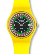 Swatch Yellow Racer GJ400
