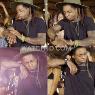 Lil Wayne is trying to get his Apple Watch to work
