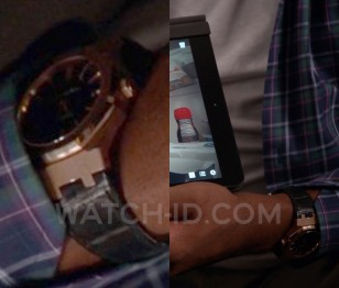 Anthony Anderson wears an Audemars Piguet Black Oak Automatic 15400 watch in season 1 episode 6 of Black-ish.