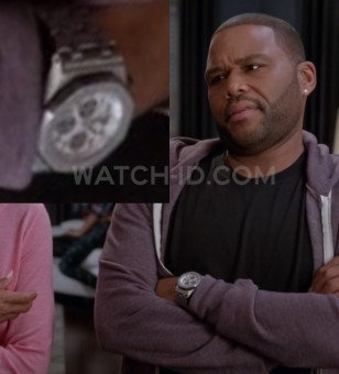 Anthony Anderson wearing an Audemars Piguet Royal Oak Offshore Chronograph 26170 watch in Black-ish, season 1 episode 9.