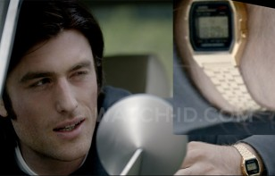 James Frecheville wears a gold Casio A159WGEA-1VT in the 2016 thriller I.T.